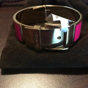Michael Kors Wide Buckle Bracelet